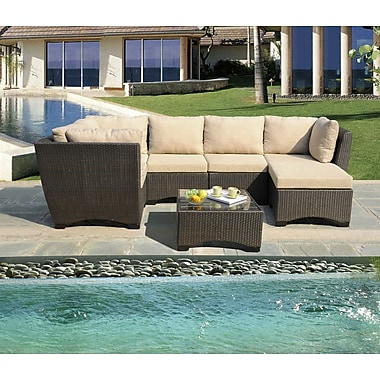 W Unlimited Infinity 7 Piece Seating Group with Cushion