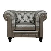 TOV Zahara Club Chair; Silver