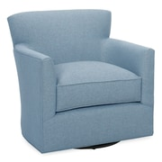 Tory Furniture Rowan Swivel Armchair; Sky