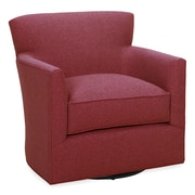 Tory Furniture Rowan Swivel Armchair; Cherry