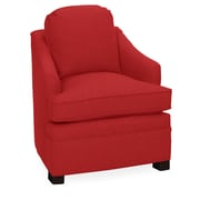Tory Furniture Quinn Armchair; Scarlet