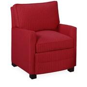 Tory Furniture Sawyer Armchair; Scarlet