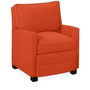Tory Furniture Sawyer Armchair; Tangelo