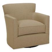 Tory Furniture Rowan Swivel Arm Chair; Stone
