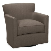 Tory Furniture Rowan Swivel Armchair; Truffle