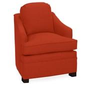 Tory Furniture Quinn Armchair; Tangelo