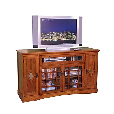 Sunny Designs Mission Counter Height TV Stand