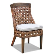 Jeffan Sahara Side Chair; Natural