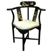 Oriental Furniture Corner Fabric Armchair