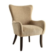Wildon Home   Wingback Chair; Beige