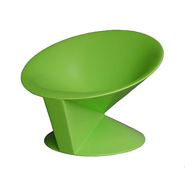 100 Essentials Cone Chair; Green