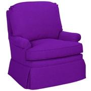 Tory Furniture Luca Armchair; Eggplant