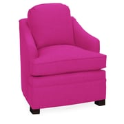 Tory Furniture Quinn Armchair; Fuchsia
