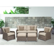 Wildon Home   Kameron 5 Piece Seating Group w/ Cushions