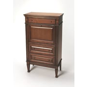 Butler Plantation Cherry Armoire Desk; Olive Ash Burn