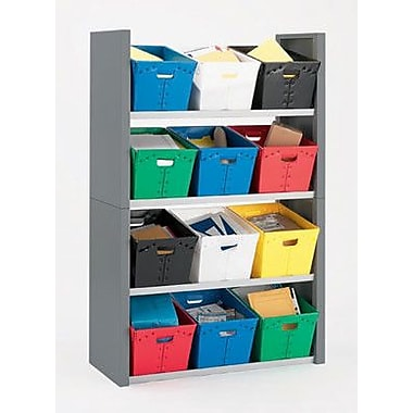 Charnstrom 4 Compartment Cubby; 68'' H x 44.75'' W x 18.75'' D