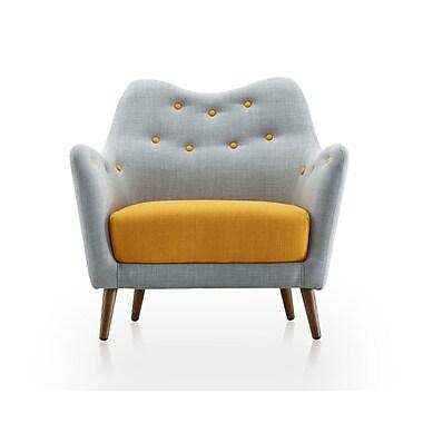 Ceets Sweetheart Armchair; Hazy Blue