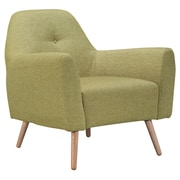 Ceets Aster Lounge Chair; Olive