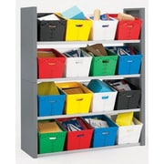 Charnstrom 4 Compartment Cubby; 68'' H x 58'' W x 18.75'' D