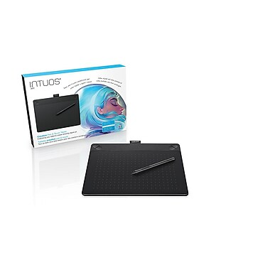 Wacom Intuos Art Creative Pen and Touch Tablet, Medium, Black