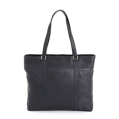 Royce Leather Luxury Carryall Women's Tote Bag in Handcrafted Colombian Genuine Leather, Debossing, Full Name