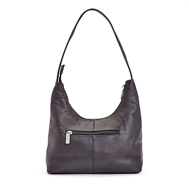 Royce Leather Luxury Women's Shoulder Handbag in Handcrafted Colombian Genuine Leather, Debossing, Full Name