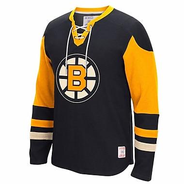 Reebok CCM Boston Bruins Long Sleeve Jersey Crew, Large