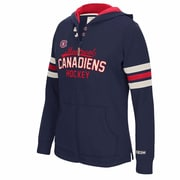 bb89ae0b7 Reebok CCM Montreal Canadiens Ladies Full-Zip Hoodie