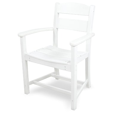 Ivy Terrace Classics Patio Dining Chair; White