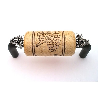 Vine Designs LLC Vineyard 3'' Center Bar Pull; Bronze/Natural/Silver