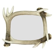 River's Edge Products Deer Antler Picture Frame