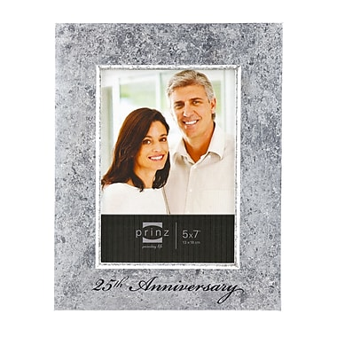 Prinz Happily Ever After '25th Anniversary' Wood Picture Frame; 5'' x 7''