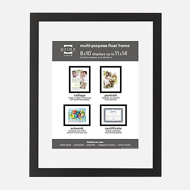 Prinz Crosby Wood Float Picture Frame; 10'' x 19''