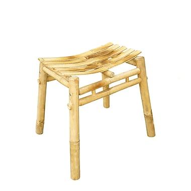ZEW Bamboo Wood Stool