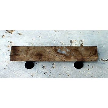 Vine Designs LLC Tuscany 3'' Center Bar Pull; Emperador Light
