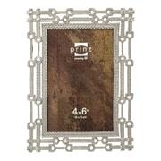 Prinz Chapman Metal Picture Frame; Antique Silver