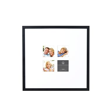 Prinz Wide Matted Four Opening Gallery Expressions Styrene Picture Frame