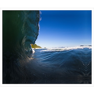 3 Panel Photo Cresting Wave by Chach Files Photographic Print on Canvas