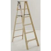 Michigan Ladder 4.1 ft Wood Step Ladder w/ 300 lb. Load Capacity