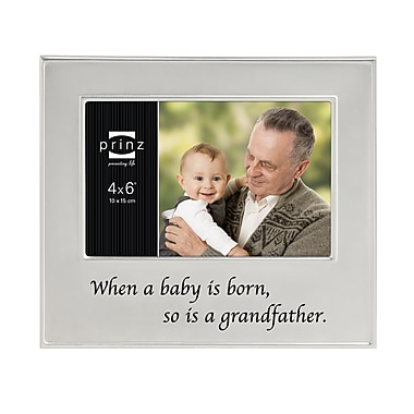 Prinz 'When A Baby Is Born, So Is A Grandfather' Family Ties Picture Frame