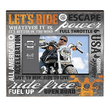 Prinz Ride Free w/ Typography Design Picture Frame