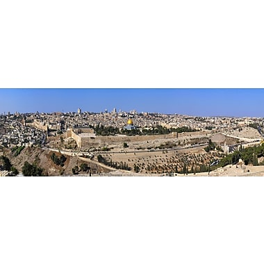 3 Panel Photo Jerusalem Photographic Print on Wrapped Canvas; 20'' H x 60'' W x 1'' D