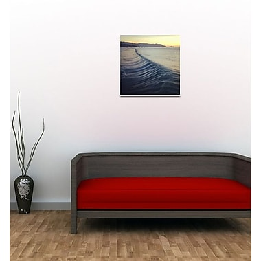3 Panel Photo Let the Waves Roll by Michie Sharine Photographic Print on Wrapped Canvas