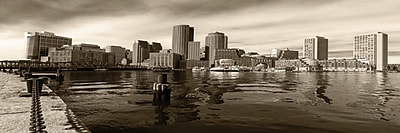 3 Panel Photo Downtown Boston Photographic Print on Wrapped Canvas; 20'' H x 60'' W x 1'' D