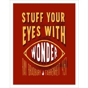 3 Panel Photo Stuff Your Eyes w/ Wonder 2 Textual Art on Wrapped Canvas; 11.5'' H x 8'' W x 1'' D