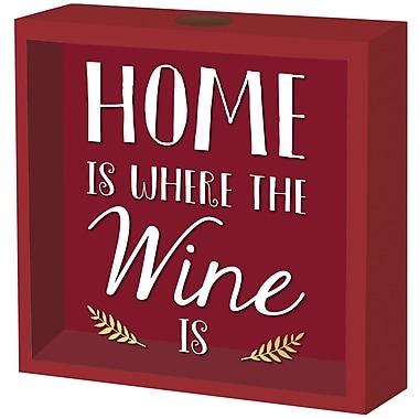 Prinz ''Home is Where the Wine is'' Cork Storage Box