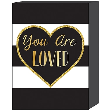 Prinz ''You Are Loved'' Textual Art Plaque