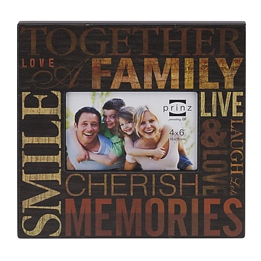 Prinz All In The Family 'Family' Picture Frame