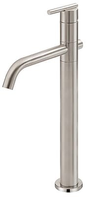 Danze Parma Single Hole Bathroom Faucet; Brushed Nickel