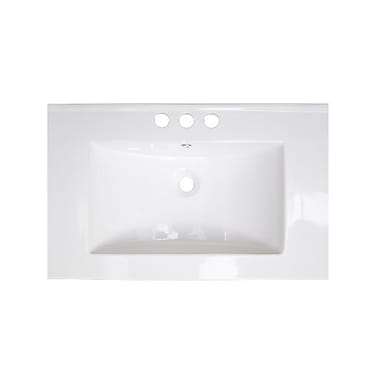 American Imaginations Vee Drop-in 21'' Single Bathroom Vanity Top